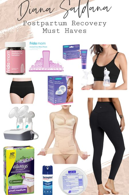 My must have items for postpartum recovery. I'm also including the pump I'm using to pump, been extremely helpful and so comfortable to use daily!   #LTKhome #LTKfamily #LTKbaby
