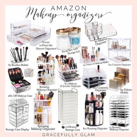 Amazon makeup storage and organizers  Amazon vanity organization  Amazon home organization  Amazon home   http://liketk.it/3ig9o      #liketkit @liketoknow.it #LTKunder100 #LTKunder50 #LTKhome @liketoknow.it.home