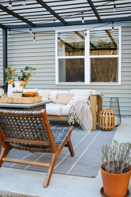 We'll be spending Labor Day right here 🤩 #competition outdoor furniture, patio furniture, outdoor rug #competition   #LTKhome #LTKSeasonal