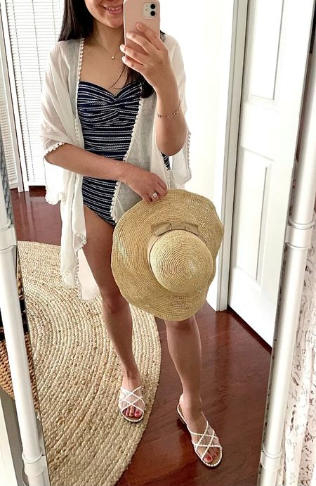"""Love this $10 swim coverup. I took the swimsuit in US 4 (AUS 8). I'm 5' 2.5"""" and currently 113 pounds.   @liketoknow.it http://liketk.it/3hpr2 #liketkit   #LTKstyletip #LTKSeasonal #LTKswim"""