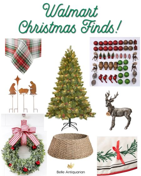 A few of my Christmas finds at Walmart! Love a good deal!  #LTKfamily #LTKHoliday #LTKhome