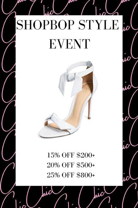 Shopbop Style Event   #LTKshoecrush #LTKwedding #LTKsalealert
