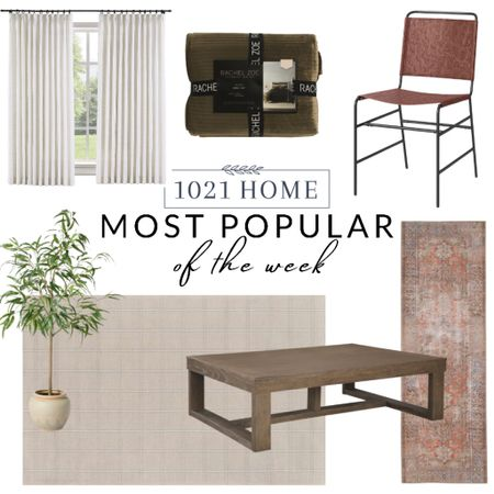 Curtains, rug, runner, chair, table, coffee table, tree, quilt, bedding  #LTKfamily #LTKhome #LTKGiftGuide