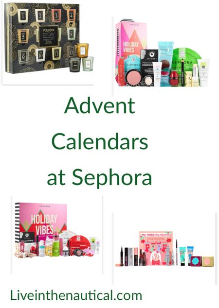Is it to early for Advent calendars? I would say not!  Sephora just released their Beauty Advent Calendar and it is sure to sell out quickly! I just snagged mine!  #LTKHoliday #LTKSeasonal #LTKGiftGuide