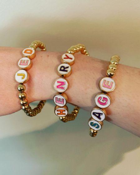 My favorite beaded bracelets   #LTKunder50 #LTKstyletip #LTKunder100