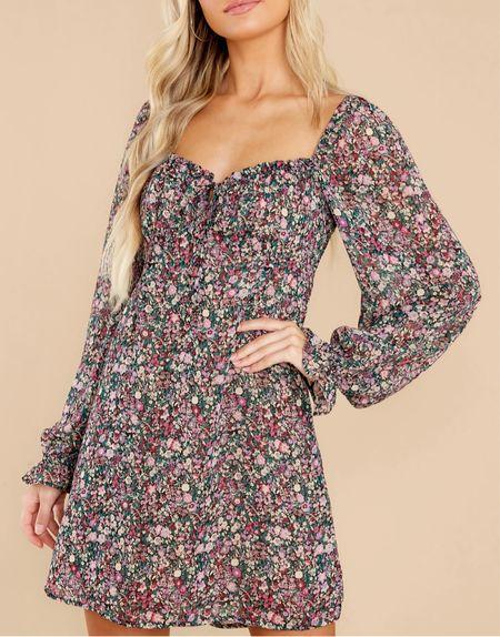 Gorgeous fall dress for a fall date night or fall wedding guest   #LTKunder100 #LTKSeasonal #LTKstyletip