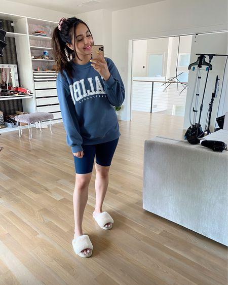 Cozy Sunday outfit Malibu sweatshirt - size small. Code LTKAF2021 Outdoor voices bottoms - size medium. Code LTK20  @liketoknow.it #liketkit http://liketk.it/3hypp #LTKunder100 #LTKDAY #LTKunder50 #LTKsalealert