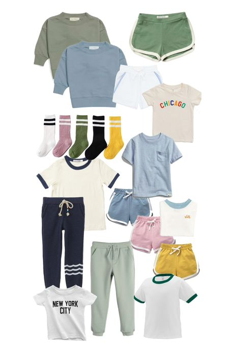 Athletic outfits for little ones - perfect for fall soccer/sports.   #LTKSeasonal #LTKfamily #LTKkids