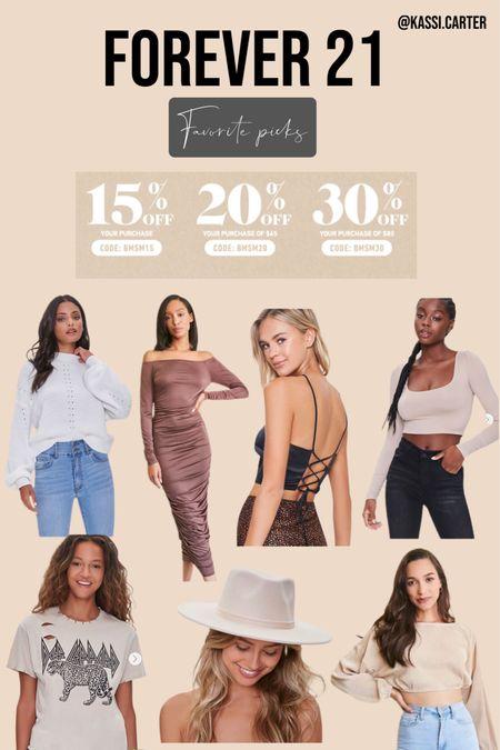 Forever 21 sale favorites! Some nice staple pieces for fall.   #LTKstyletip #LTKunder50 #LTKsalealert