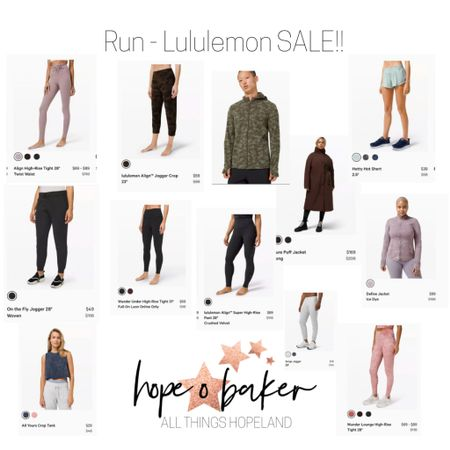 Run. Don't walk. Lululemon sale IS ON! These are some of my favs, and half are already on the way to my house! 😂🙌🏽    http://liketk.it/34IAd #liketkit #LTKcurves #LTKsalealert @liketoknow.it    You can instantly shop my looks by following me on the LIKEtoKNOW.it shopping app