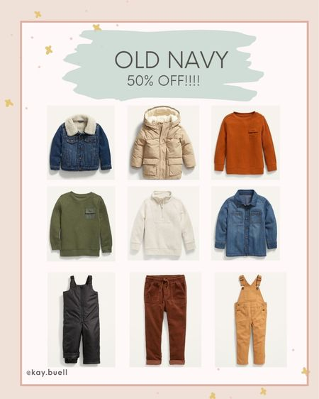Cute toddler clothes on sale 50% off at Old Navy!   #LTKfamily #LTKkids