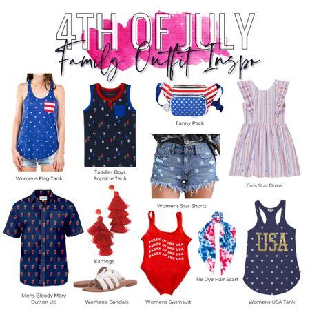 http://liketk.it/3hQzr #liketkit @liketoknow.it #LTKfamily #americana #patriotic #4thofjuly 4th of July Family Outfit Inspo