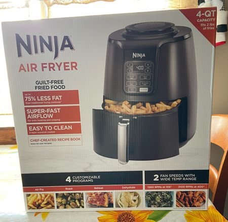 I have to say, I love how this air fryer, made by one of my favorite brands can seriously cook anything!! I just took out frozen chicken and put it in here and it cooked in 40 minutes or less. Tasted perfect and I will be doing it again! Soo worth it! Great price for all the necessities it has too.   #StayHomeWithLTK #LTKfamily #LTKhome
