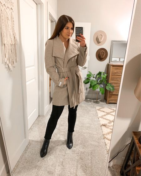 My Calvin Klein jacket is 60% off today! If you need a new black or beige coat, I highly recommend this one! I've had it for 3 years and I think it's just so timeless. Great brand and quality for the price too 👌🏼  http://liketk.it/363Qh @liketoknow.it #liketkit #LTKsalealert #LTKunder100 #LTKstyletip