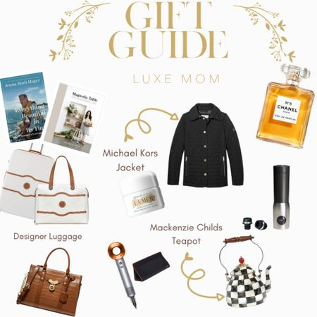 http://liketk.it/31Gdz These designer gifts for Mom Will place you as the favorite for sure! From Chanel Perfume, Michael Kors Handbag, La MER skincare, luggage, Mackenzie Childs teapot , Christmas gift guide for mother http://liketk.it/31G8i #liketkit @liketoknow.it #LTKgiftspo #LTKfamily #LTKitbag wine , kitchen appliance decor , dyson hair, luggage, sale, boujie @liketoknow.it.brasil @liketoknow.it.europe @liketoknow.it.family @liketoknow.it.home Shop my daily looks by following me on the LIKEtoKNOW.it shopping app