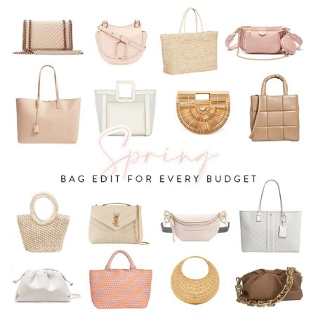 In celebration of all things spring and summer, here are my latest picks for purses, totes, fanny packs, andbags... including options for affordable, mid, and designerprice ranges. Tap the links to shop! http://liketk.it/3dqNx #liketkit @liketoknow.it
