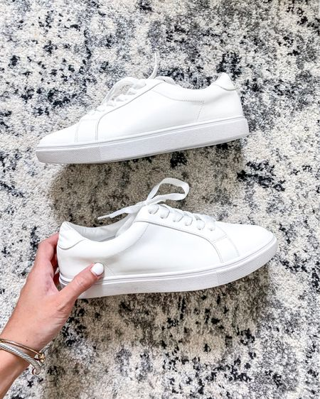 These white sneakers are under $25 on amazon and are the perfect classic pieces! Shop these white sneakers (and these designer dupe bracelets) now http://liketk.it/2R2rV #liketkit @liketoknow.it #LTKshoecrush #LTKunder50 #LTKsalealert