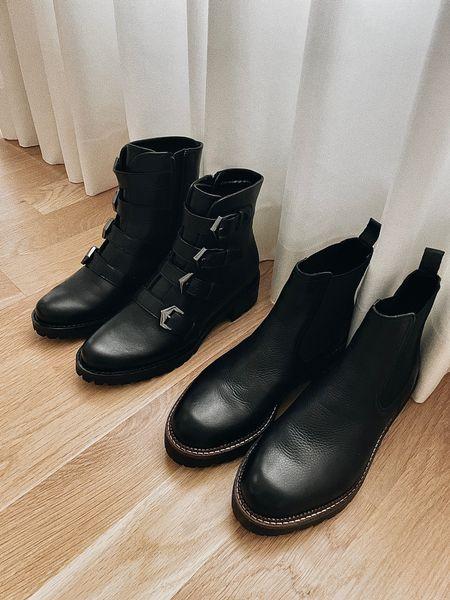 Black lug boots on sale 🤍