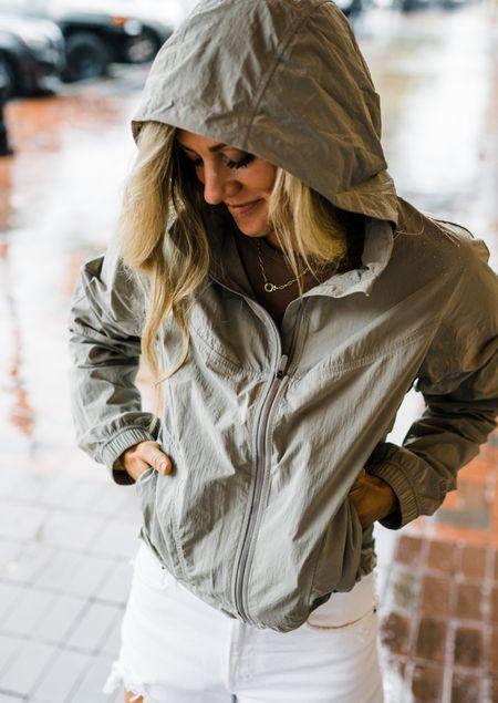 Rain jacket size 6  #LTKSeasonal #LTKunder50