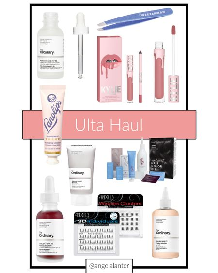 Ilya haul! Hair color, skincare and Kylie lip products   #LTKbeauty #LTKGiftGuide