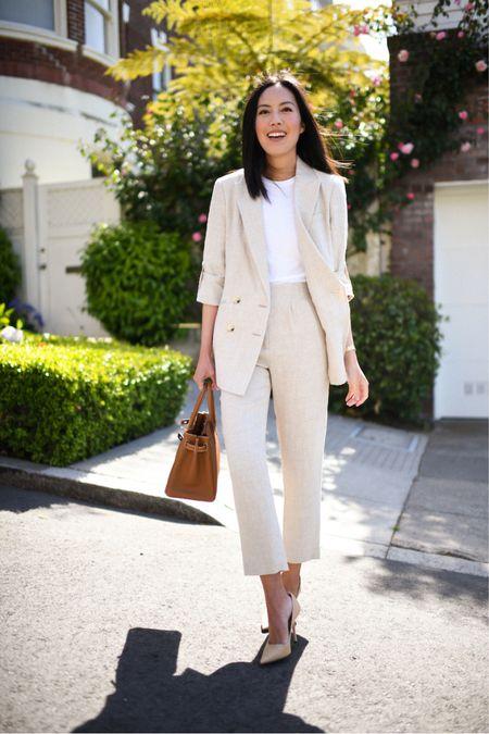 A work suit you can dress down or up 🙌🏼❤️  #LTKstyletip #LTKworkwear #LTKSeasonal