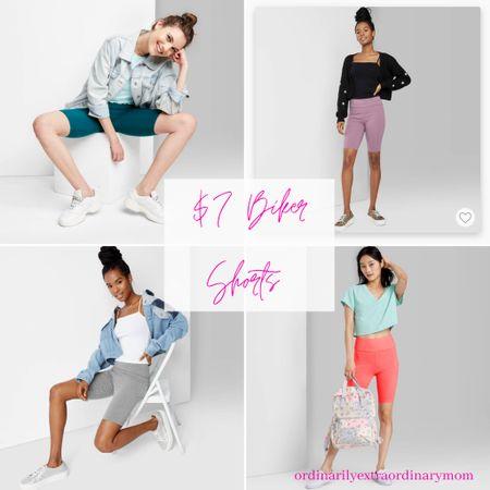 $7 Biker Shorts from Target http://liketk.it/3hCt8 #liketkit @liketoknow.it #LTKstyletip #LTKunder100 #LTKfit