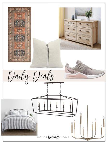 Daily Deals!  Home decor, dresser, furniture, rug, chandelier, lighting, bedding   #LTKstyletip #LTKhome #LTKsalealert