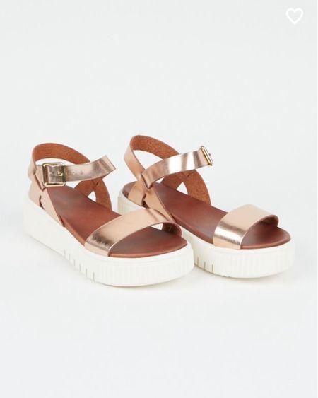 Platform Sandals on sale  SALE ALERT   http://liketk.it/3jPBQ #liketkit @liketoknow.it #LTKunder50 #LTKshoecrush #LTKsalealert
