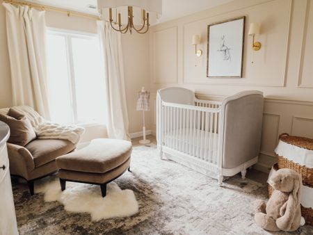 Swoon! My vision turned out exactly as I pictured my 2nd daughters nursery to be 💕 so dreamy and chic and perfect for our Olivia! Later today Look for this nursery on project nursery to see more in depth deets. Happy shopping! http://liketk.it/2ZJty #liketkit @liketoknow.it #LTKbaby #LTKfamily #LTKkids @liketoknow.it.home @liketoknow.it.family