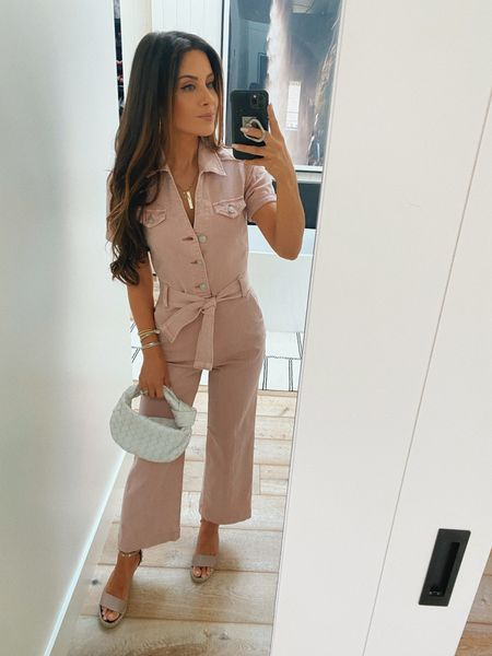 The comfy stretchy but fitted jumpsuit I wore to my bday brunch yesterday xo  #LTKitbag #LTKstyletip