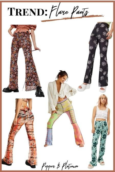 Now is the time for those beautiful flare pants!    #LTKunder50 #LTKfit #LTKSeasonal