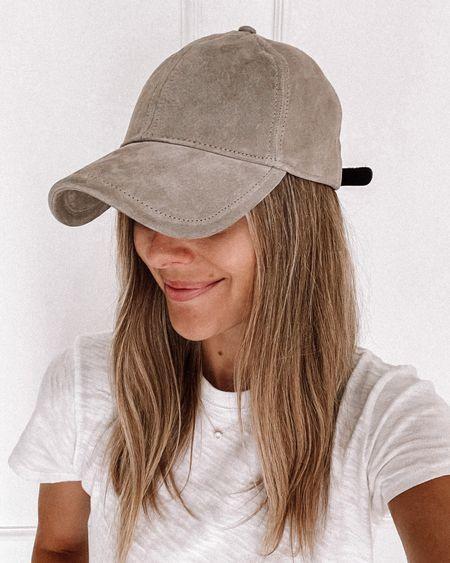 Suede hat for fall! #hat #baseballhat  #LTKsalealert #LTKunder100 #LTKstyletip