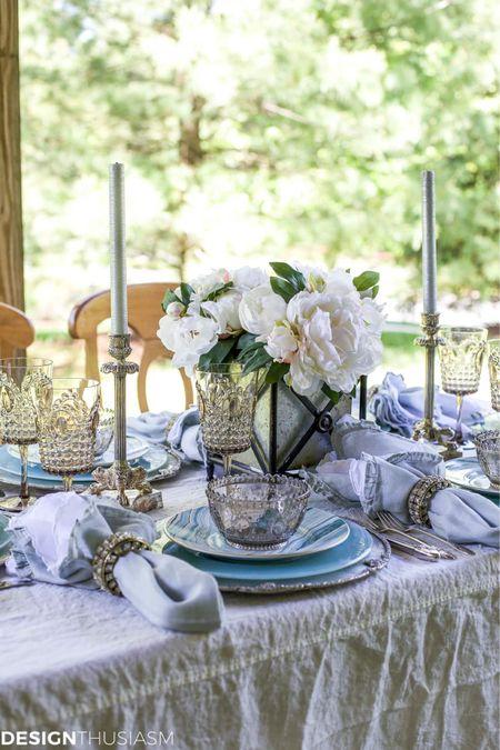 http://liketk.it/3jcZd #liketkit @liketoknow.it #LTKfamily #LTKhome #LTKstyletip Use these items to create a summer coastal tablescape!