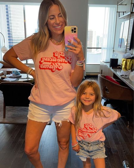 http://liketk.it/3hmP5 #liketkit @liketoknow.it wearing a medium in this tee. Kolly is in a youth small. Code: Krista20