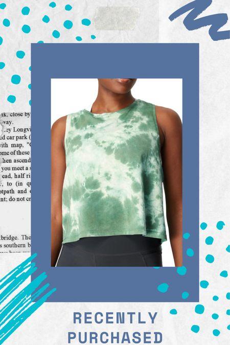 ✨ New year, new workout gear ✨ Tie dye workout tank top  Lounge outfit ideas  http://liketk.it/35X7W #liketkit @liketoknow.it