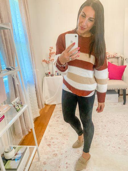Light weight sweater/ miles/ faux leggings/ lip gloss sale   #LTKshoecrush #LTKSeasonal #LTKbeauty
