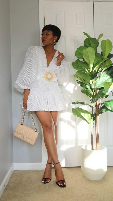 How to style white for summer  Summer white dress, shorts and more   #LTKstyletip #LTKSeasonal #LTKunder100