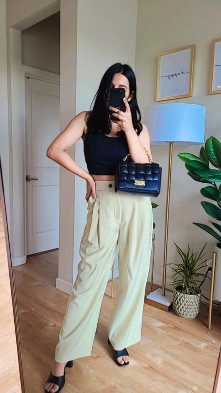 High waisted pants #shoedazzle #nudepants #khakhipants #blacksandals #falloutfitinspo #summertofall http://liketk.it/3mf6P @liketoknow.it #liketkit #LTKbacktoschool #LTKSeasonal #LTKshoecrush #LTKsalealert #LTKstyletip #LTKunder50 #LTKunder100 #LTKtravel #ltkfall #workwearpants