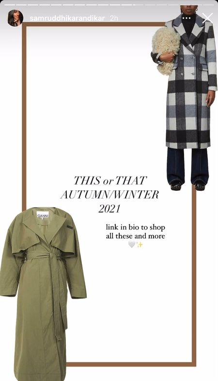 This or That Thursday – Autumn Winter 2021 Edition, you can check out these picks and more on my website ✨  #LTKGiftGuide #LTKworkwear #LTKSeasonal