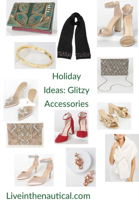 Holiday Ideas: Glitzy Accessories perfect to add to your Holiday outfits or to gift those people who love to get glammed up in your life!  #LTKSeasonal #LTKHoliday #LTKGiftGuide