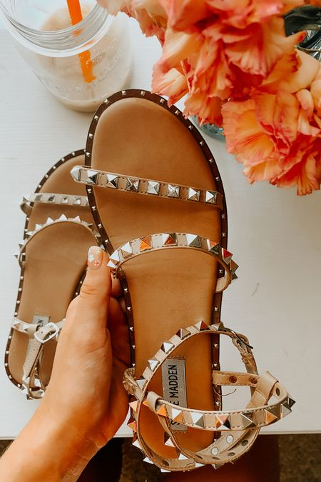 top-selling steve madden sandals 🤩 these go with literally everything y'all! i'm obsessed! fits true to size :) #LTKfit #LTKshoecrush #LTKunder100 http://liketk.it/3jhss #liketkit @liketoknow.it Shop your screenshot of this pic with the LIKEtoKNOW.it shopping app