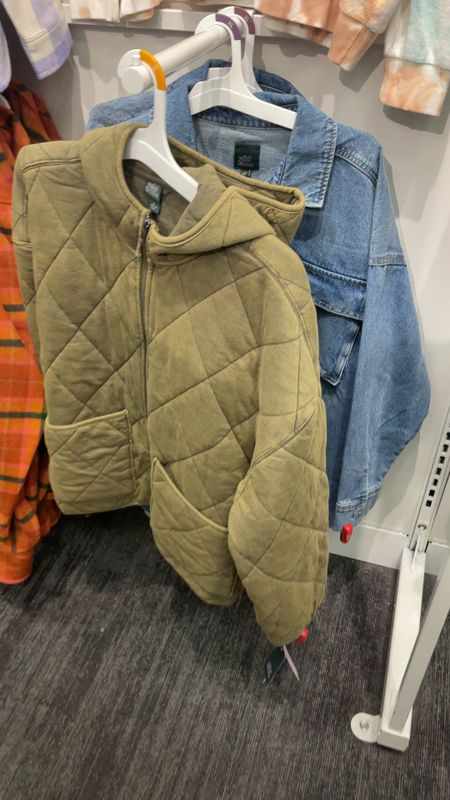 New Target fall fashion  Quilted jacket
