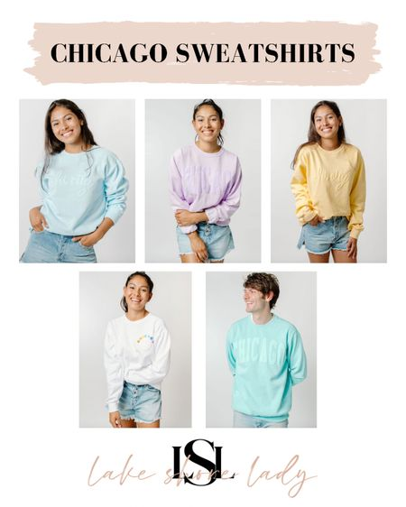 Alice & Wonder just launched new Chicago sweatshirts and they are SO CUTE! @liketoknow.it http://liketk.it/3iG4C #liketkit