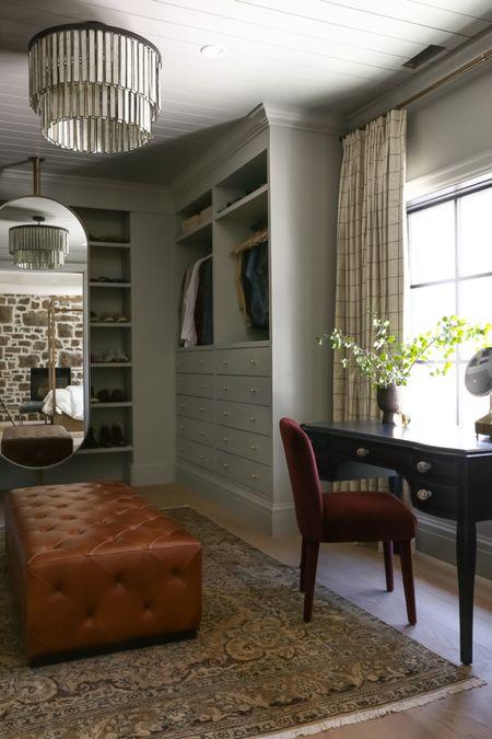 Closet, Vanity, Ottoman, Home Decor, Furniture http://liketk.it/3jOyo #liketkit @liketoknow.it