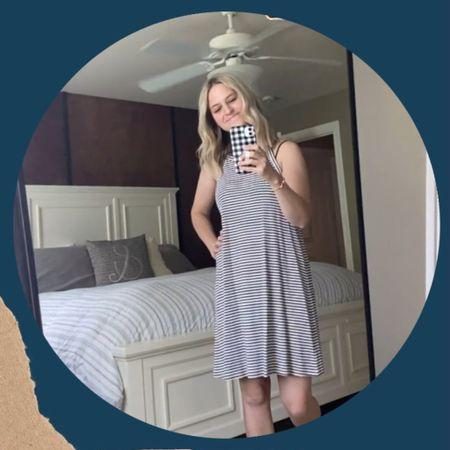 Mom ootd, summer dress, casual dress, mom uniform, mom friendly outfit, casual style, mom fashion, mom style, boy mom http://liketk.it/3iZz7 #liketkit @liketoknow.it #LTKfamily #LTKunder100