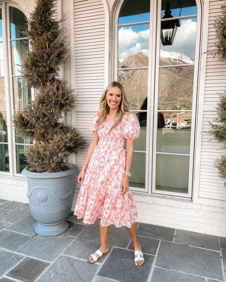 Spring dress | Rachel Parcell dress | floral dress | spring dress http://liketk.it/3eyNv #liketkit @liketoknow.it #LTKstyletip #LTKshoecrush #LTKwedding