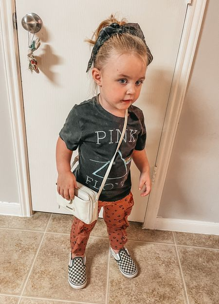 She is ready to go shopping… at Target 😂🙌🏼 I love to find her mini handbags at Marshall's♥️ I sized up for her joggers and tee   #LTKkids #LTKshoecrush #LTKbaby