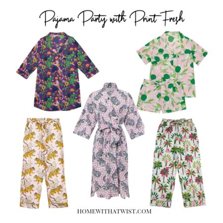 Have you discovered Print Fresh? Gorgeous prints and so soft pajamas, nightshirts, pajama pants and robes. http://liketk.it/3kL8S @liketoknow.it #liketkit #LTKstyletip Download the LIKEtoKNOW.it app to shop this pic via screenshot