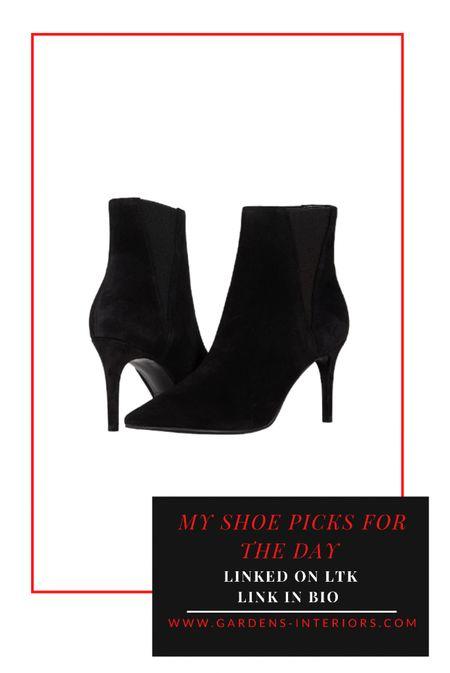 Ted Baker Maarya ankle boot   #falloutfits #ankleboots #blackboots #bootie  #LTKSeasonal #LTKstyletip #LTKshoecrush