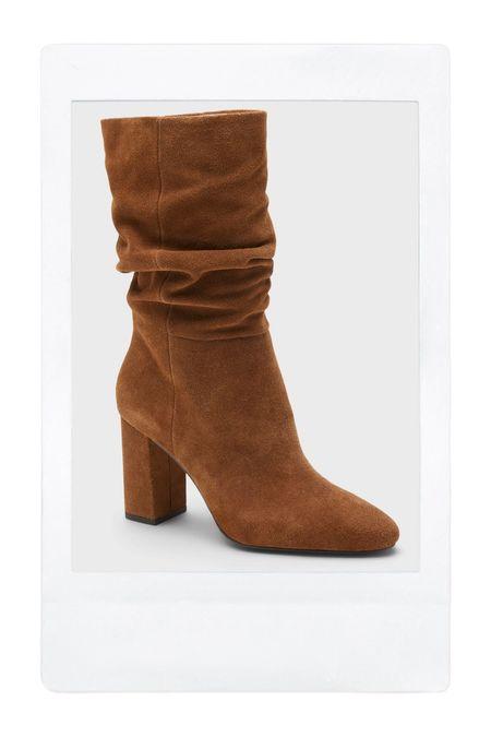 Mid shaft boots.   #LTKshoecrush